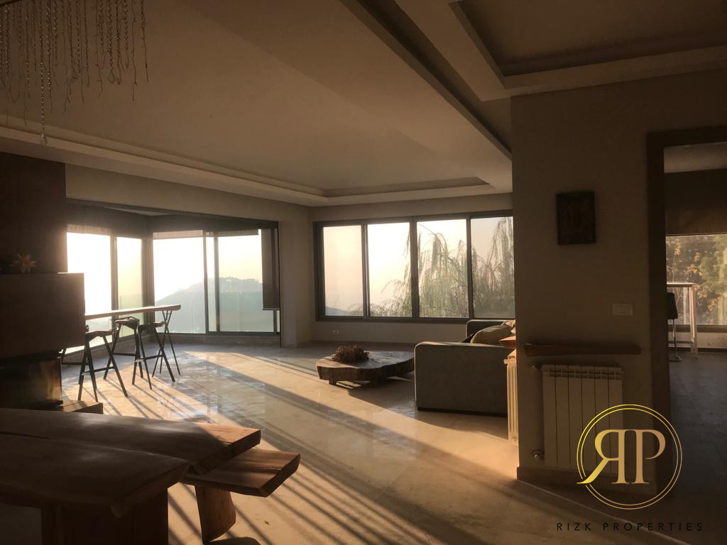 Well-located Apartment in Daher El Souwen - Metn DISTRICT !!