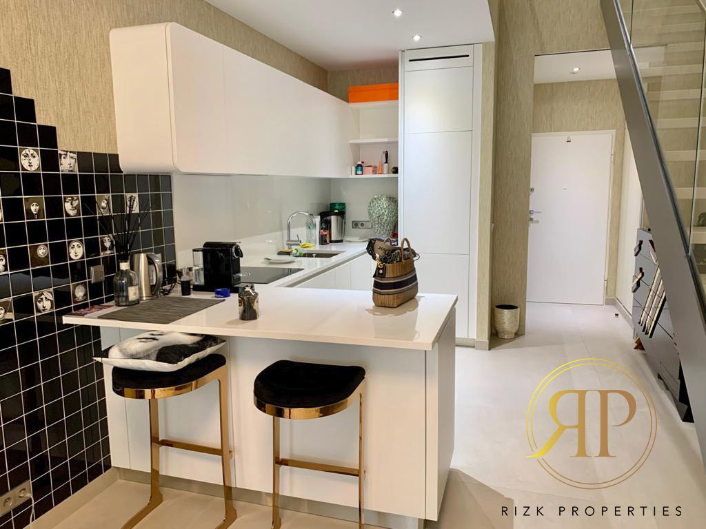 Fully furnished Duplex for rent in Monaco!
